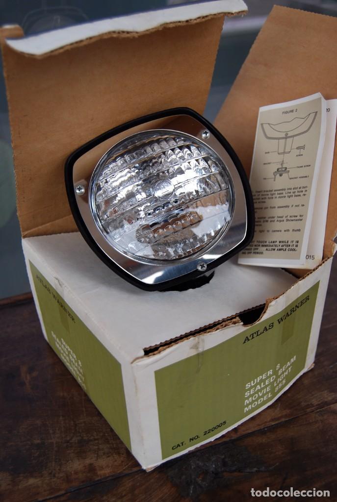 Vintage: VINTAGE LAMPARA FOCO CINE SUPER 8 MOVIE LIGHT ATLAS WARNER CORPORATION 650 WATT MADE IN U.S.A. - Foto 2 - 144204994