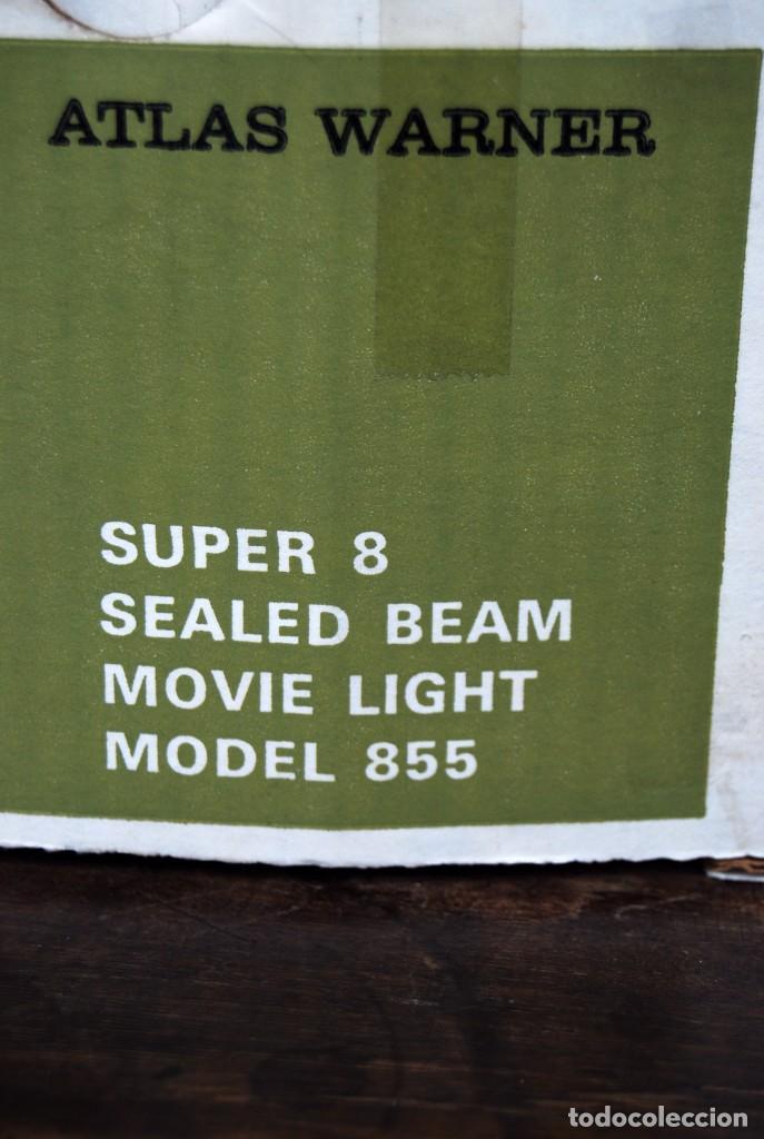 Vintage: VINTAGE LAMPARA FOCO CINE SUPER 8 MOVIE LIGHT ATLAS WARNER CORPORATION 650 WATT MADE IN U.S.A. - Foto 13 - 144204994