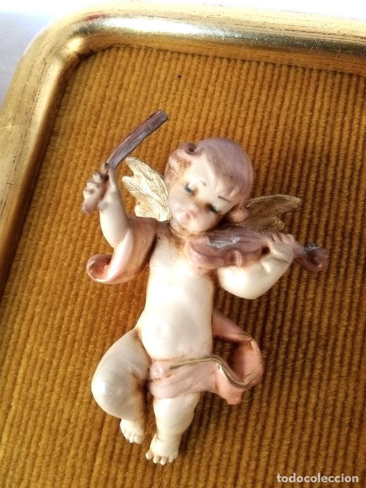 Vintage: Cuadritos de ángeles - Foto 2 - 144309006