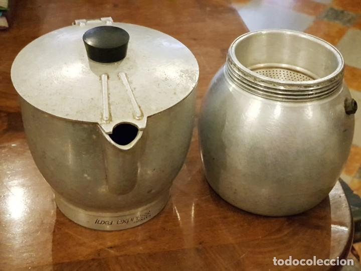 Vintage: CAFETERA VINTAGE GRANDE - MARCA LUXA EXPRESS ITALY - AÑOS 60 - Foto 2 - 145181686