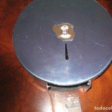 Vintage: PORTARROLLOS DE PAPEL HIGIENICO ACERO INOX BRILLO. Lote 145403966