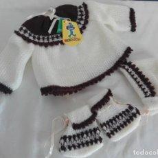 Vintage: ROPA DE BEBÉ AÑOS 70 NUEVA. Lote 145542274