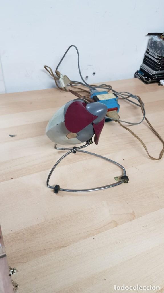 Vintage: Antiguo ventilador HURRICANE + transformador de 125v a 220 - Foto 3 - 145838346