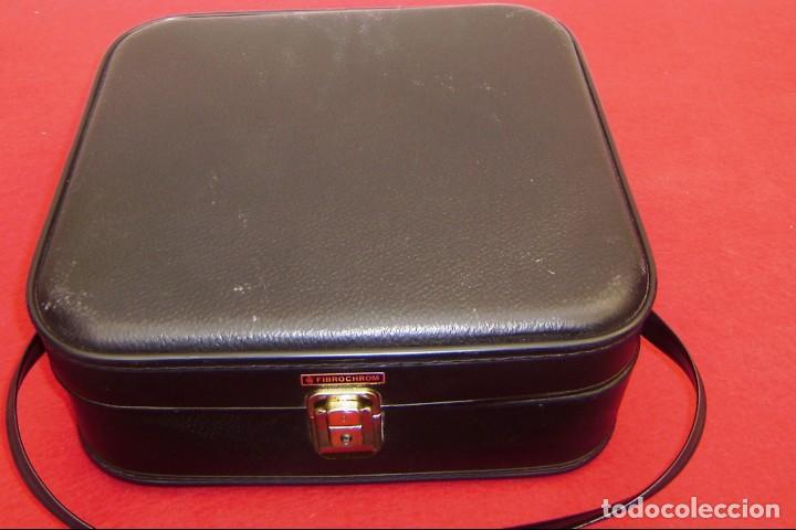 Vintage: Maleta maletin de fin de semana de viaje color negro.Con llave. - Foto 2 - 145849506