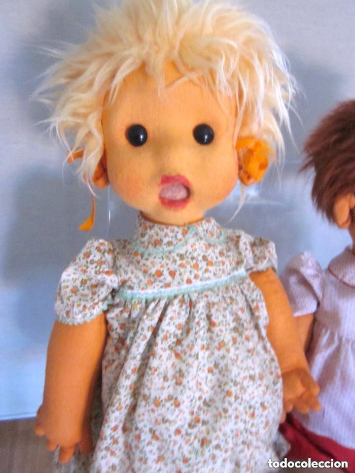 Vintage: Muñecos Maniquíes Maniquí niño niña escaparate tienda tamaño real 80 cm cartón piedra similar - Foto 4 - 146495314