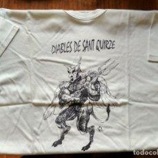 Vintage: CAMISETA DIABLES DE SANT QUIRZE DEL VALLES. Lote 146737254