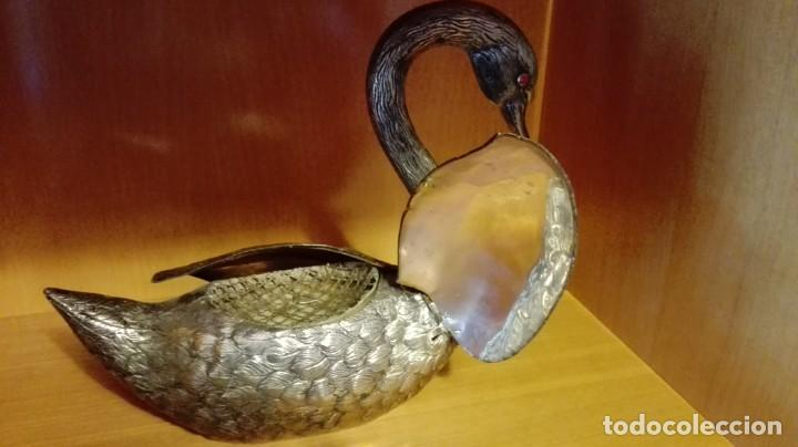 Vintage: Pato Plateado florero - Foto 3 - 147325642