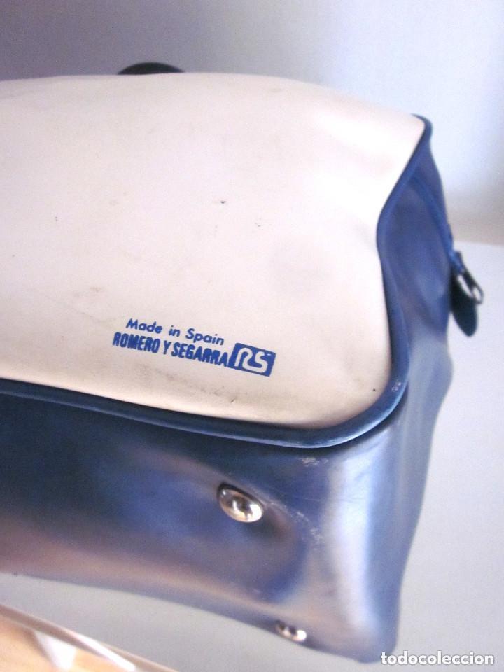 Vintage: Excelente Bolsa Motorista Club Moto Cross años 70 plástico Made in Spain Romero Segarra cremallera - Foto 10 - 147438022