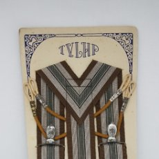 Vintage: ANTIGUOS TIRANTES - TYLHP - CAR24. Lote 147774738