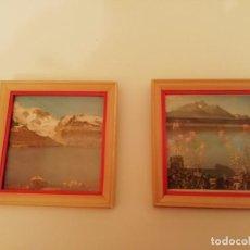Vintage: PEQUEÑOS CUADRITOS - DECORACION VINTAGE. Lote 147789306