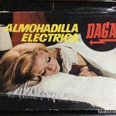Vintage: ALMOHADILLA ELÉCTRICA, ELECTRO TERMOFORO DAGA, AÑOS 60. Lote 148239374