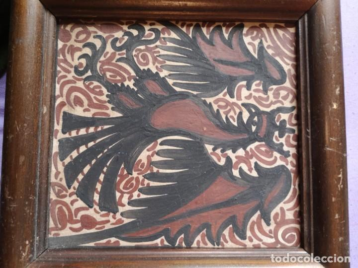Vintage: Cuadro de azulejos antiguos - Foto 2 - 148554018