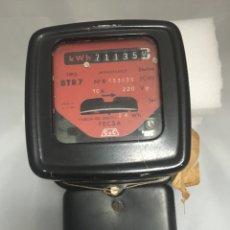 Vintage: CONTADOR DE LUZ CDC. Lote 149368910
