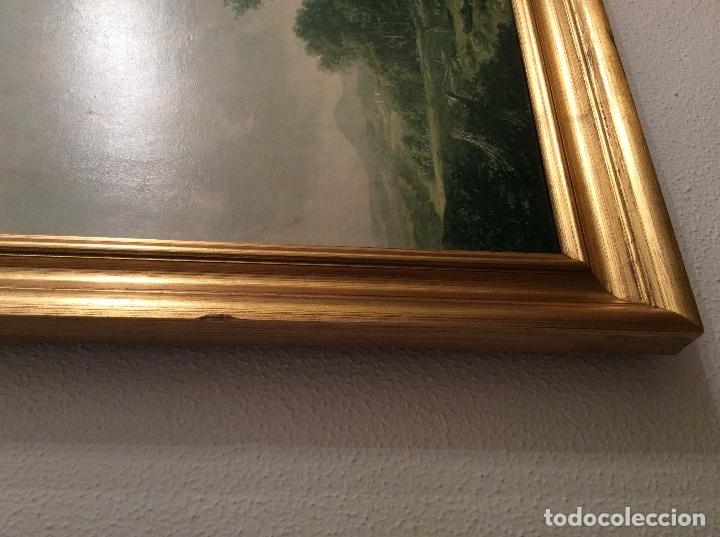 Vintage: VINTAGE CUADRO PAISAJE HOBBEMA - CON MARCO - 88,5 x 70 cm - Foto 6 - 147227138