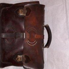 Vintage: ANTIGUA CARTERA EN PIEL PURA. Lote 150245792