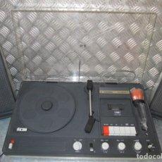 Vintage: LOTE VINTAGE TOCADISCOS -CASSETTE -MICRO - STEREO THOMSON -CK6040T FUNCIONANDO. Lote 150750466
