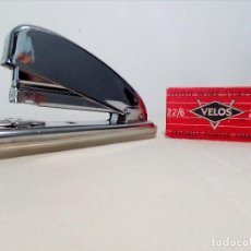 Vintage: GRAPADORA CROMADA PETRUS AÑOS 80 VINTAGE (GRAPAS VELOS DE REGALO). Lote 150779534