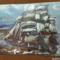 Vintage: CUADRO ESMALTADO PARA ENMARCAR. Lote 150932902