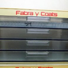 Vintage: CAJONERA HILOS FABRA COATS, CUATRO CAJONES, EXCELENTE ESTADO, IDEAL COLECCIONES.. Lote 151064530