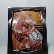 Vintage: MARCO FOTOS / PORTA RETRATOS - ACERO INOX 18/8 (AÑOS 60 / 70). Lote 151329426