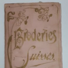Vintage: BRODERIES SUISSES. ASSORTIMENT. NO. 801. Lote 151458321