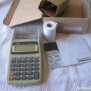 Vintage: CALCULADORA CON IMPRESORA SAMER D60 / ¡¡¡¡¡NUEVA!!!!!!!. Lote 151496738