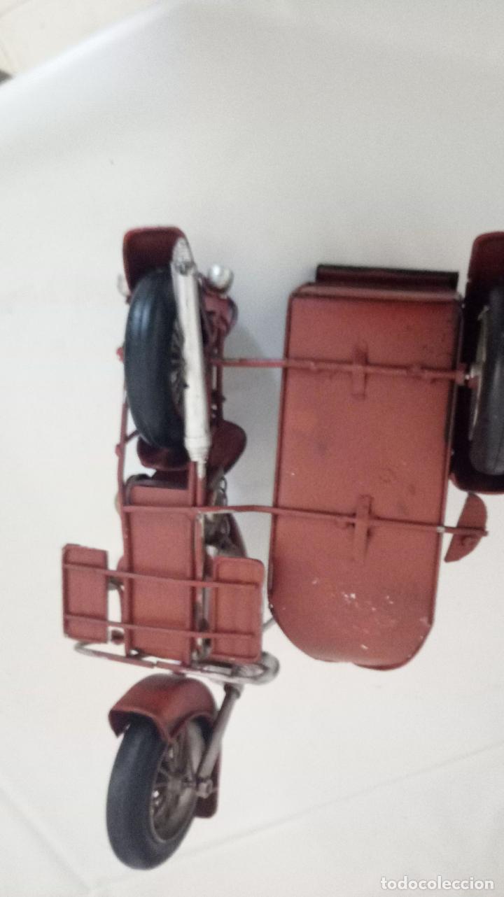 Vintage: MOTO CON SIDECAR- DECORACION - Foto 2 - 151981270