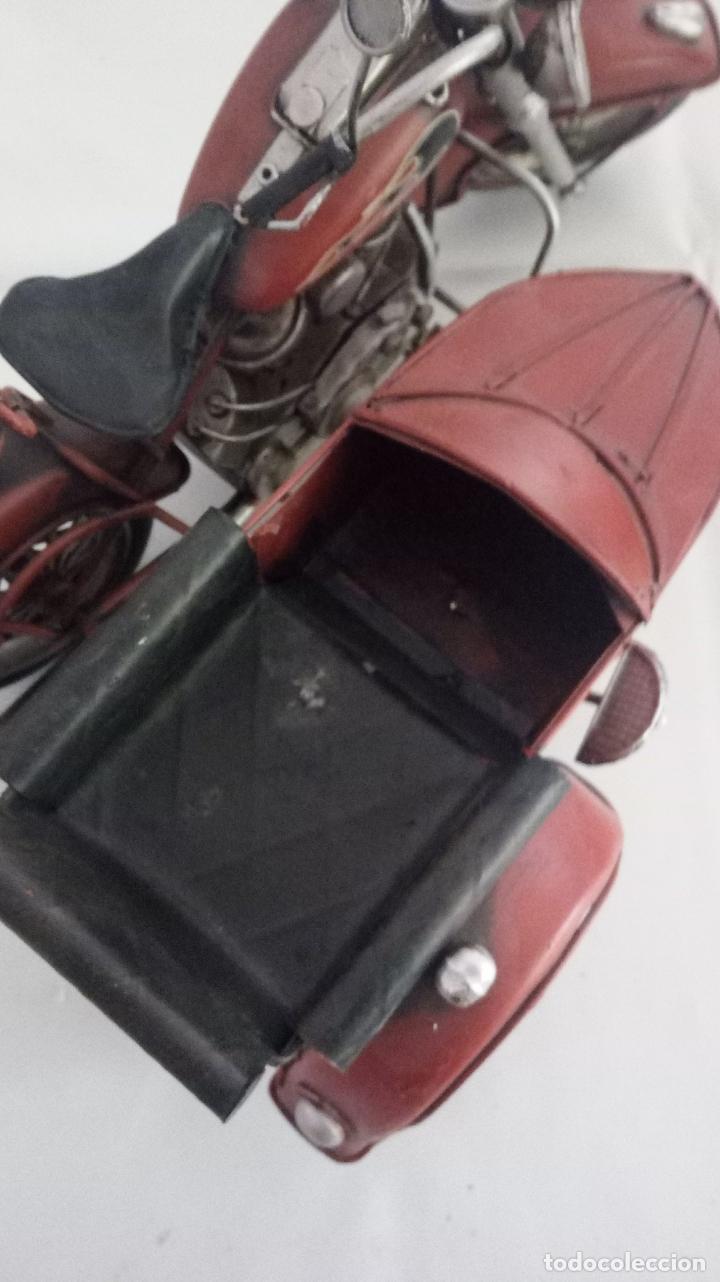 Vintage: MOTO CON SIDECAR- DECORACION - Foto 4 - 151981270