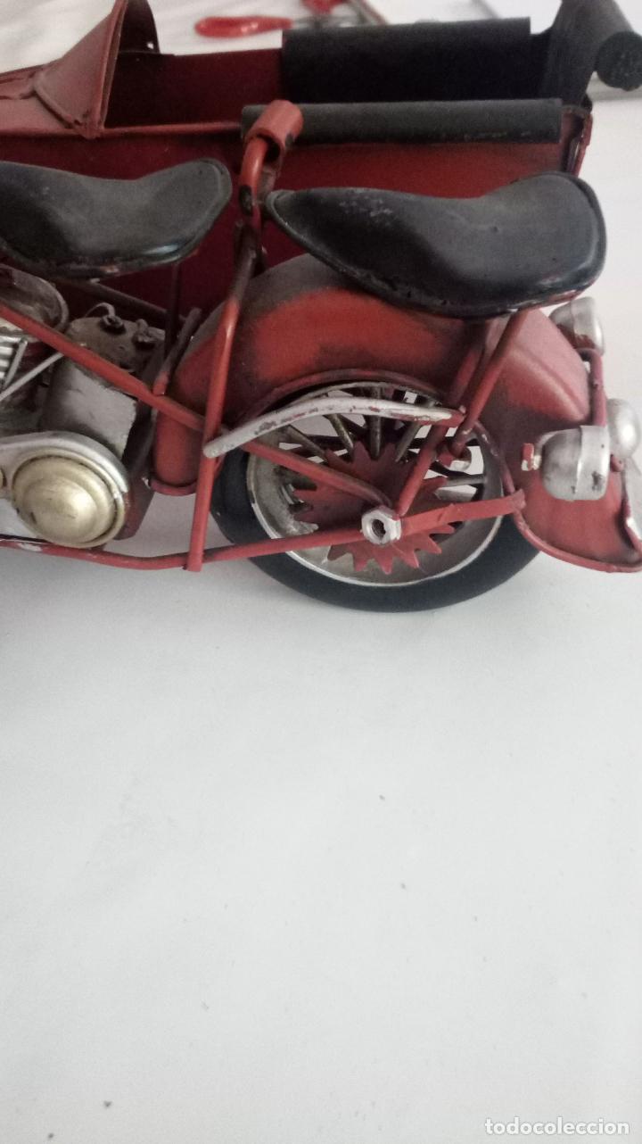 Vintage: MOTO CON SIDECAR- DECORACION - Foto 6 - 151981270