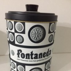 Vintage: BOTE DE GALLETAS FONTANEDA . Lote 152217086