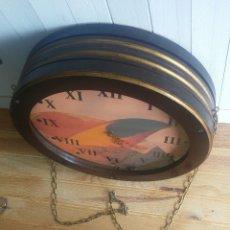 Vintage: RELOJ GIGANTE A DOBLE CARA.. Lote 152368458