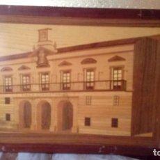 Vintage: CUADRO DE MADERA.. Lote 152592950