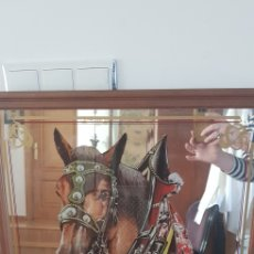 Vintage: ESPEJO BAR EICHER CERVEZA ALEMANA COLLECCIONABLE. Lote 152779590