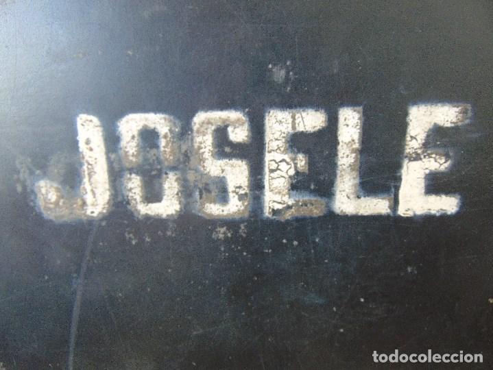 Vintage: MALETA DE VIAJE DE HUMORISTA , JOSELE MIDE 40.5 X 32 X 15 - Foto 2 - 152864314