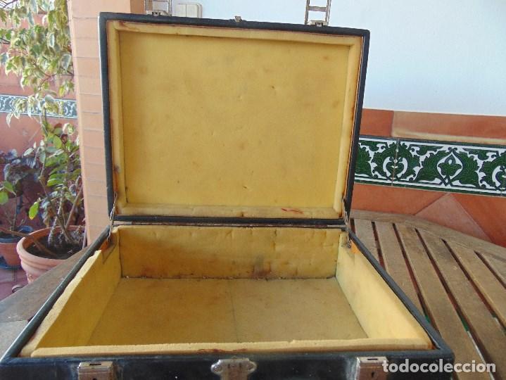 Vintage: MALETA DE VIAJE DE HUMORISTA , JOSELE MIDE 40.5 X 32 X 15 - Foto 6 - 152864314