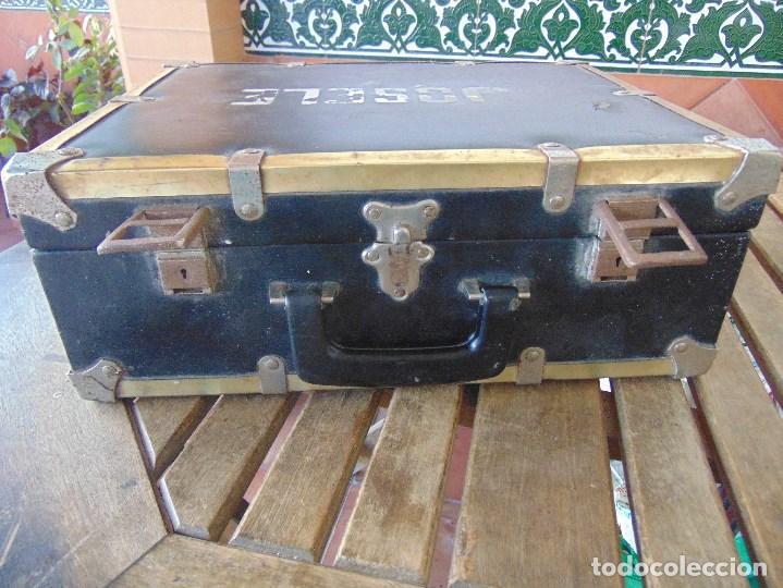 Vintage: MALETA DE VIAJE DE HUMORISTA , JOSELE MIDE 40.5 X 32 X 15 - Foto 7 - 152864314