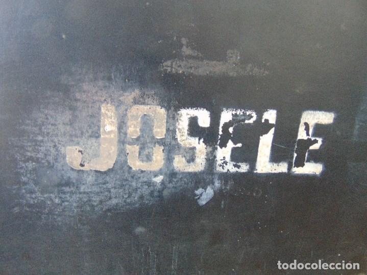 Vintage: MALETA DE VIAJE DE HUMORISTA , JOSELE MIDE 40.5 X 32 X 15 - Foto 17 - 152864314