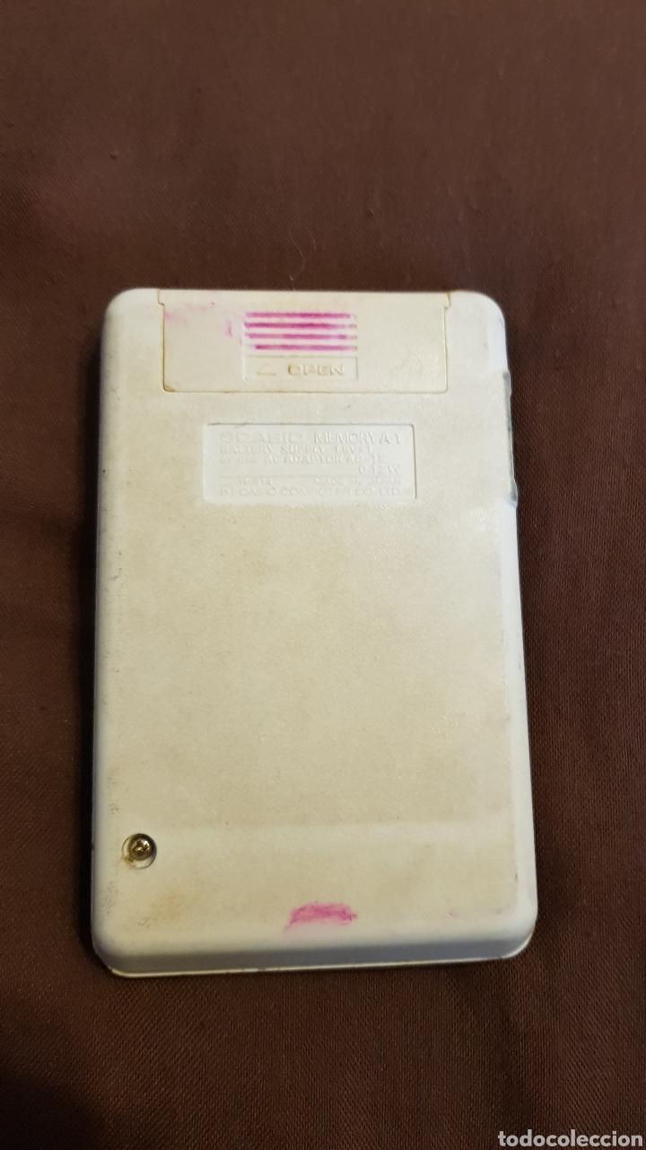 Vintage: CALCULADORA CASIO MEMORY A1 VINTAGE ELECTRONIC CALCULATOR FUNCIONANDO - Foto 3 - 152967702