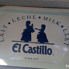 Vintage: BANDEJA LECHE EL CASTILLO. Lote 153202978