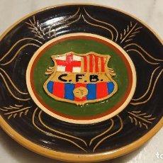 Vintage: ANTIGUO PLATO DE CERÀMICA DE FUTBOL CLUB BARCELONA BARÇA DE LOS AÑOS 60-70. Lote 153264618