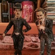 Vintage: FIGURAS VINTAGE GROUCHO Y CHAPLIN. Lote 153923145