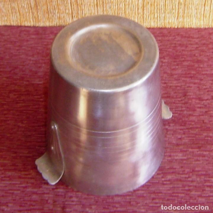 Vintage: Cubitera de aluminio.20 x 19 cm. - Foto 4 - 154530946