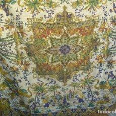 Vintage: BONITA Y ANTIGUA MANTELERIA INDIA ( SIN EMBARGO COMPRADA DE RECUERDO DE LA MILI EN EL SAHARA ). Lote 154841854