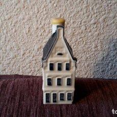 Vintage: CASITA BOTELLA EN CERÁMICA DE DELFTS. Lote 154947062