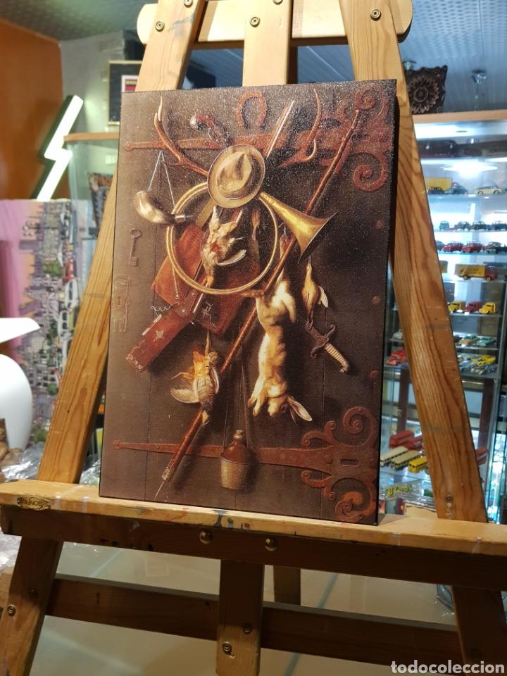 Vintage: Cuadro en madera de Caza. Estilo antiguo vintage con objetos de caceria - Foto 6 - 155132318