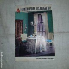 Vintage: EL DECORADOR DEL HOGAR 1964-65. Lote 155498570