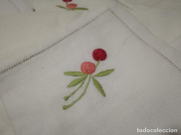 Vintage: Mantel antiguo bordado - Foto 2 - 155538254