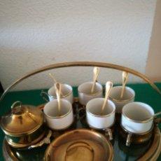 Vintage: BONITA BANDEJA PARA SERVIR CAFE. Lote 155594436