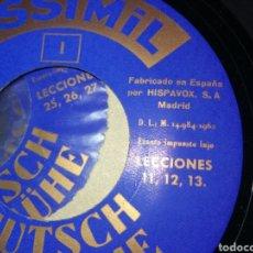 Vintage: MÉTODO PARA APRENDER ALEMAN. Lote 156000800