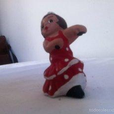Vintage: FIGURA DE BARRO. ALBOROX 7 CM. Lote 156903722